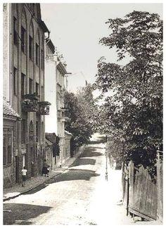 1920-as évek. A Naphegy utca. Old Pictures, Old Photos, Vintage Photos, Roaring Twenties, Budapest Hungary, Wall Street, Historical Photos, Tao, Landscape