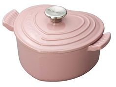 Heart shaped pink Le Creuset :)