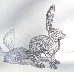 esculturas de alambre - Buscar con Google