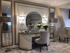 Contemporary interior designer - One-stop solution for contemporary interior design and luxury living. Interior Design London, Luxury Interior Design, Interior Stylist, Dressing Table, Entryway Tables, Modern, Furniture, Home Decor, Trendy Tree