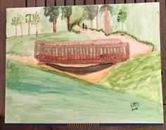 Parc Frances Maciá Malgrat Acuarela 300gr 31x41