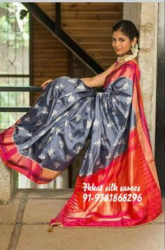 6bc1fad6e1dfbb 10 Best ikkat silk images in 2019 | Numbers, Handloom saree ...