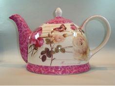 Floral teapot                                                       …