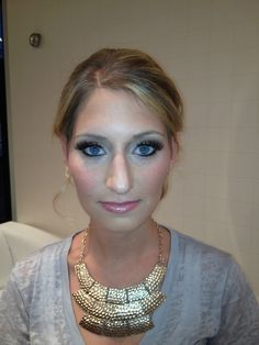 Wedding makeup. Everyone else wants subtle; I want va va voom!