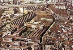 Foto aérea de la antigua fábrica Pegaso en La Sagrera