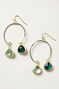 Anthropologie Scaling Loops earrings