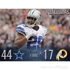 How bout them Cowboys!! Detroit travels to Arlington for the NFC Wild Card game.
