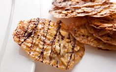 This florentines cookie recipe is an easy, crispy almond cookie flavored with orange zest.