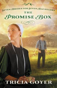 NetGalley Catalog: The Promise Box by Tricia Goyer: HCCP; Zondervan;  Pub May 21, 2013. Every year, young Amish men descend on the cozy little town of West Kootenai, Montana, arriving in the spring to live there for six months and receive 'resident' status for the hunting season in the fall. They arrive as bachelors, but go home with brides! This is the second book of Seven Brides for Seven Bachelors series.