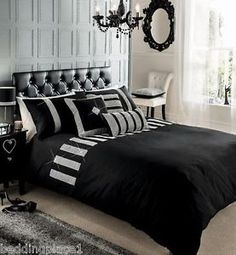 MODERN-PLEATED-COTTON-DUVET-QUILT-COVER-WITH-PILLOWCASE-BEDDING-SET-ALL-SIZES