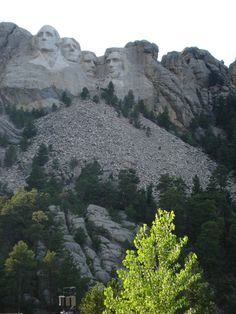 Mt. Rushmore in The Black Hills