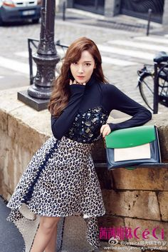 The lovely Jessica Jung for CeCi China's latest issue!