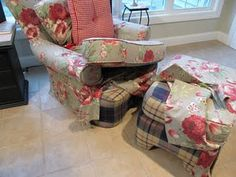 Michele this is for you! You could totally do this to your chair!