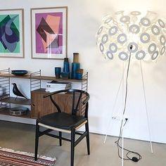 Dandelion Floor Lamp by Richard Hutten via Moooi   www.moooi.com   #floorlamp #lighting #white #lamp #interior #design