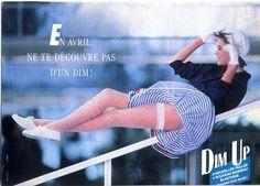 Dim, annonce presse, Publicis, 1992