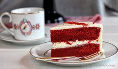 Pullahiiren leivontanurkka: Red velvet cake - punaista samettia Velvet Cake, Red Velvet, Tiramisu, Cravings, Baking, Ethnic Recipes, Desserts, Food, Tailgate Desserts