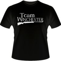 Team Winchester - Shirt Happens! by Signal Fire Studios