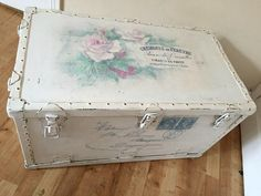 Upcycled Vintage Trunk - Reader Feature - The Graphics Fairy