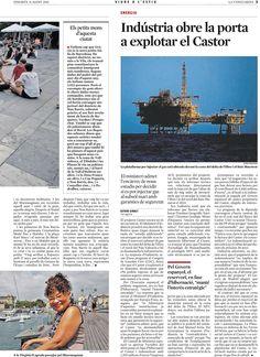"""La-Vanguardia_11_8_Viure-a-l'estiu_Sobre-els-sentiments-que-desperta-Barcelona (""""La nostra Barcelona""""."""