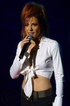 Mylène FARMER Redheads, Farmer, Superstar, Leather Jacket, Singer, Lady, Beautiful, Beauty, Women