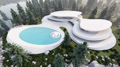 Architecture,Graphic Design,Visual Effects Water Architecture, Architecture Building Design, Concept Architecture, Amazing Architecture, Futuristic Home, Modern Bungalow, Luxury Homes Dream Houses, Dream House Exterior, Deco
