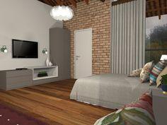 Casa de Campo - Dormitório aconchegante