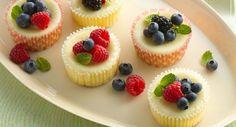 ♥ easy mini cheesecakes
