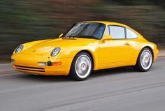 Porsche 993 - Yellow