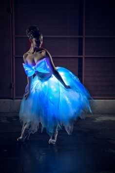 30db26d8b7 LED tutu created for my Light Up Clothing line of LED skirts and Glowing  dresses Light