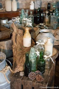 The Wilde Bunch have a vast collection of Rustic props perfect for the stone barns of The Cotswolds & Somerset. We can style your whole wedding theme without the hassle of outsourcing additional prop hire. Wedding Table Centres, Rustic Wedding Flowers, Wedding Props, Wedding Ideas, Kingscote Barn, Flower Decorations, Table Decorations, Wedding Flower Design, Prop Hire