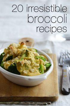 20 Irresistible Broccoli Recipes!