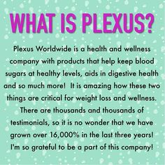 Want to become happier AND healthier all with one product? Try Plexus for increased energy, help with digestive issues and lowering blood sugars! Browse the products or join my team! :) http://shopmyplexus.com/hammondgeorgia/index.html