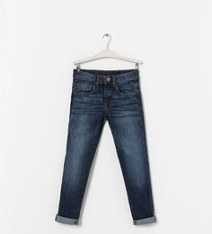 Image 1 of FADED SKINNY JEANS from Zara