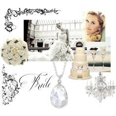 Bride: Encore Pendant Swarovski by AZULI SKYE