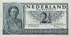 een briefje van 2 gulden 50