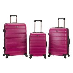 Rockland Luggage, 2-pc. Expandable Hardside Spinner Luggage Set