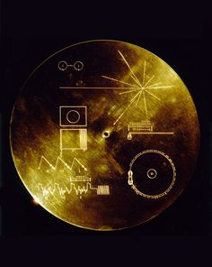 """The Sounds of Earth Record Cover 