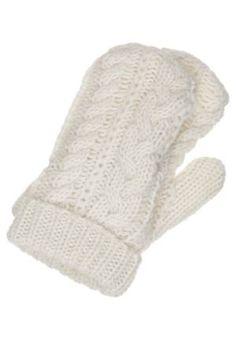Hilfiger Denim Enise Manoplas Weiß guantes Weiss manoplas Hilfiger Enise Denim Noe.Moda