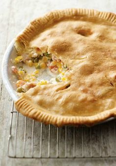 Homestyle Chicken Pot Pie – Great-grandma had to spend hours to make her version of this classic dinnertime recipe. You? Just under an hour. And it's just as creamy, hot, and delicious as the original.