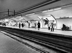 Estación de Ventas, años 70.