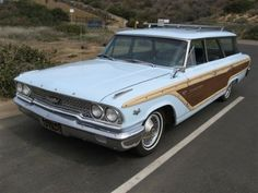 Love a good station wagon...1963 Ford Country Squire Wagon.
