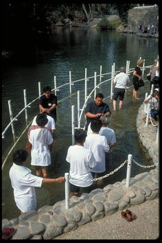 Baptism in the Lake of Galilee