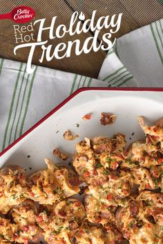 Trend 10: Communal Food { Spicy Three-Cheese Bacon Bites} #MakeMerry