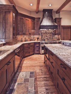 Dream kitchen. ❤️                                                                                                                                                      More