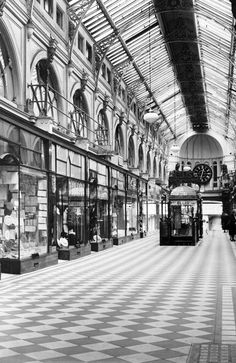 1942: Royal Arcade. Picture: Herald Sun Image Library/ ARGUS