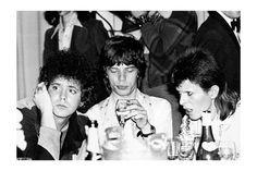 Lou Reed, Mick Jagger, David Bowie