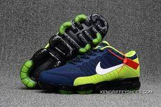 https://www.kengriffeyshoes.com/mens-nike-air-vapormax-flyknit-2018-navy-volt-green-top-deals.html MEN'S NIKE AIR VAPORMAX FLYKNIT 2018 NAVY VOLT GREEN TOP DEALS : $93.22 Nike Air Max 2017, Nike Air Max Running, Nike Air Vapormax, Mens Nike Air, Cheap Nike Air Max, Running Shoes For Men, Nike Men, Green Sneakers, Men's Sneakers