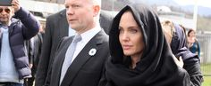 Angelina Trades Las Vegas For Sarajevo For Her Latest Mission (March 2014)