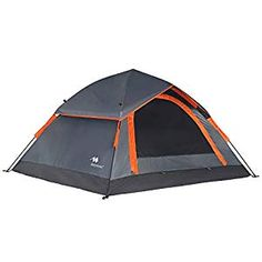 Mobihome Camping Backpacking Tent 2 3 Person Easy Setup, Instant Quick Up Portable Dome Tents for Hiking and Mountain Outdoor, with Water-Resistant Rainfly and Ventilated Top Mesh - x ** See this great product. (This is an affiliate link) Backyard Camping, Beach Camping, Tent Camping, Camping Gear, Family Camping, 3 Person Tent, Tent Fabric, Waterproof Tent, Hiking Places