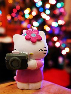 hello kitty ... say cheese! #cute